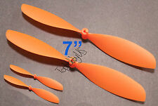 """4pcs 4x7"""" ø1.4mm Rubber Band Powered Plane Air Plane Propellers, US 001-01003"""