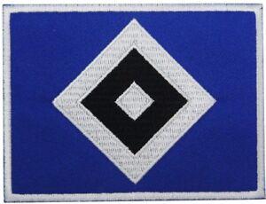 AUFNAHER-AUFBUGLER-HAMBURGER-SV-HSV-Raute-NEU
