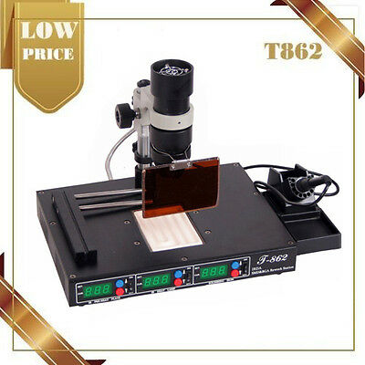 Station de révision infrarouge machine de soudure SMT/SMD irda BGA soudeuse T862
