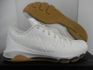 new styles 6a2c5 6afe7 Image is loading NIKE-KD-8-EXT-WOVEN-SAIL-SAIL-WHITE-