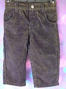 Sean-John-Baby-Boys-Black-Corduroy-Pants-Size-12-18-Months