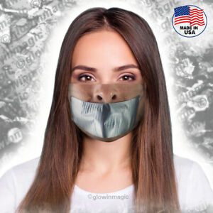 Duct-tape-face-mouth-mask-Funny-weird-shut-up-Washable-and-Reusable-free-shipp