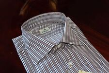 NWT Luigi Borrelli Napoli Handmade Dress Shirt Size 15 / 38 Brand New W/ Tags