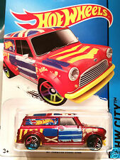Hot Wheels Morris Mini Van  With Union Jack Roof