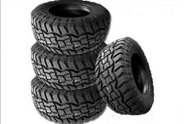 4 Supermax RT-1 35X12.50R18LT 123Q Tires, 10Ply, All-Terrain A/T, Mud M/T, Truck