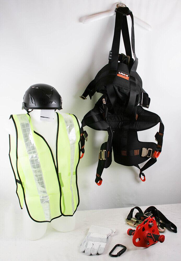 Fusion Carbine Zipline Helmet Vest Climbing Harness
