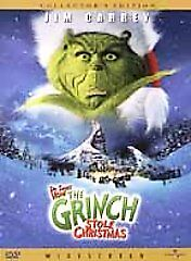 How-the-Grinch-Stole-Christmas-DVD-2001-Widescreen-DISC-ONLY