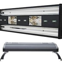 """MH 48"""" Metal Halide T5 Aquarium Light 716W Coral Reef Marine LED 2x 250W Bulbs"""