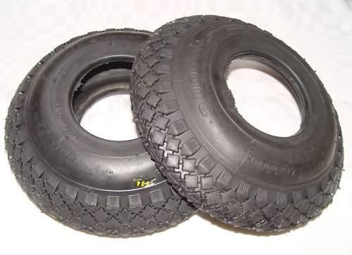 2 x Manteau Pneus Plafond Luftrad 260 mm sur pneus roue de diable