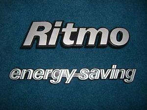 Emblem-Badge-Fiat-Ritmo-energy-saving