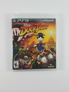 DuckTales-Remastered-PS3-Playstation-3-Brand-New-Factory-Sealed-Disney-Capcom