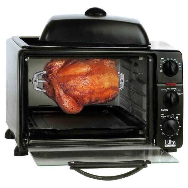 Maximatic Ero 2008s Elite Cuisine 6 Slice Toaster Oven: MaxiMatic ERO-2008SC Elite Cuisine 6-Slice Convection