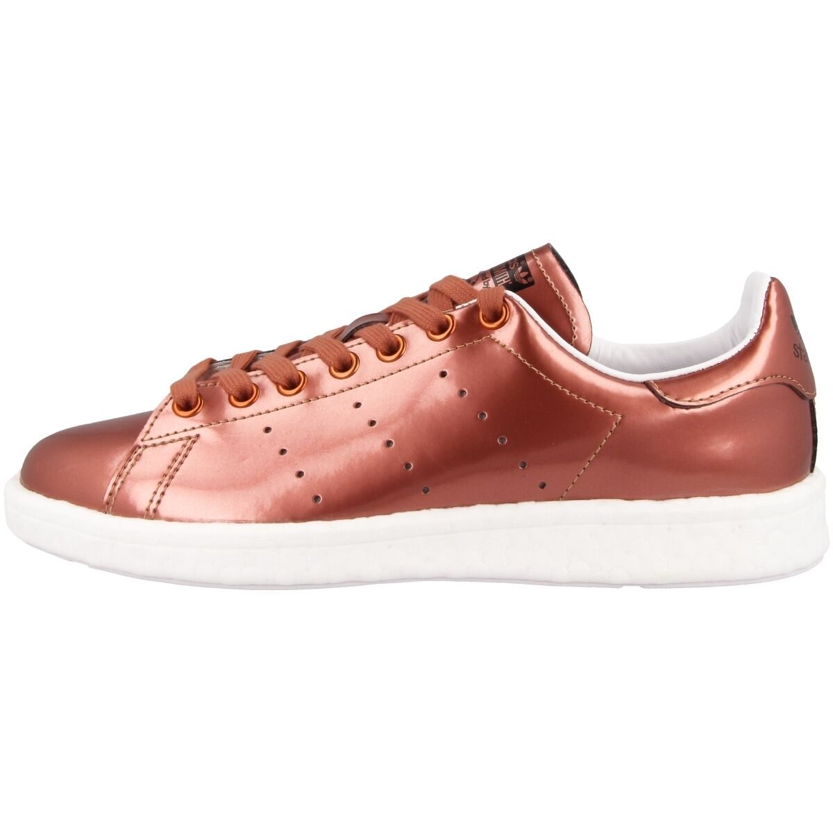 ADIDAS Stan Stan Stan Smith Boost Scarpe Retro scarpe da ginnastica COPPER METALLIC bb0107 Superstar a121f9