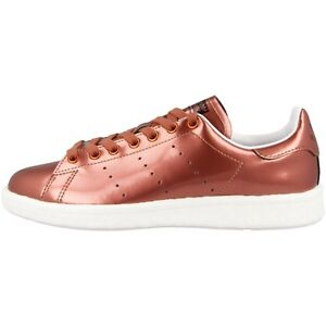 Adidas-Stan-Smith-Boost-Scarpe-Retro-Sneaker-Rame-Metallizzato-BB0107-Superstar
