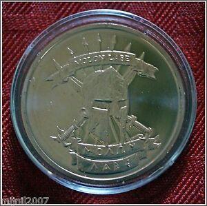 1 oz Pure Copper Coin Molon Labe Bullion Round in an Air-Tite