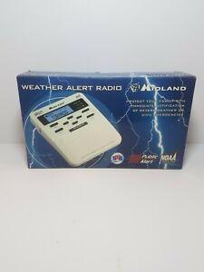 Midland Weather Radio Storm Warning Alert Home Alarm WR-100 NOAA