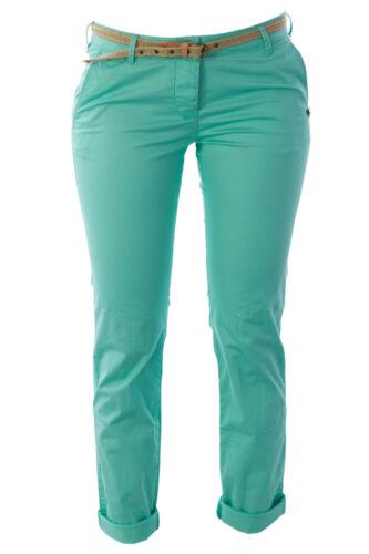SCOTCH /& SODA MAISON SCOTCH Mint Green Belted Chinos 1321.02.80888 $109 NWT