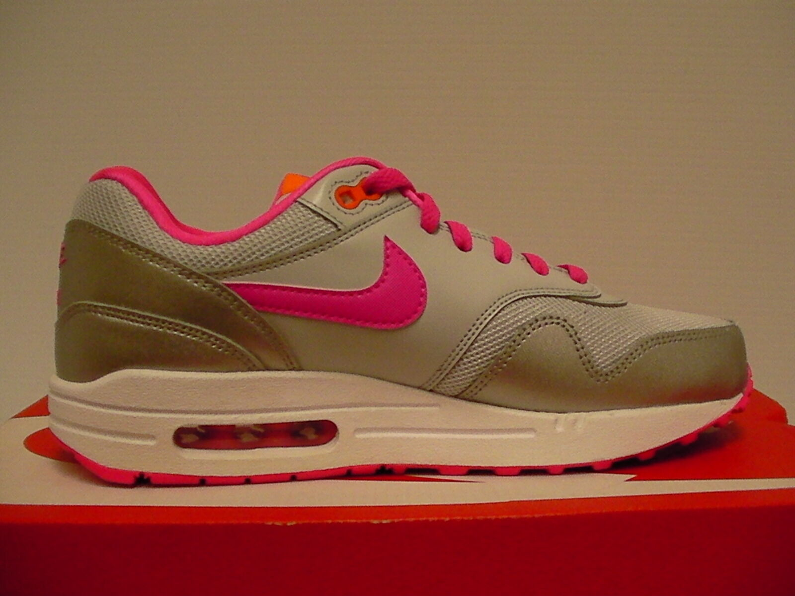 Nike air max 1 (GS) running shoes size 6.5 6.5 6.5 Youth new 968c3e