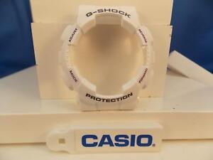 Detalles de Casio piezas de reloj Ga 100 A 7 Bisel Shell Blanco Blackpurple G shock Cartas ver título original