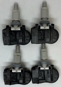 Set di 4 Genuine Jaguar ipace VALVOLA TPMS Sensori pressione pneumatici.