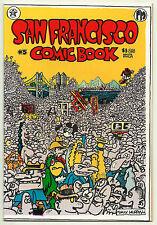 San Francisco Comic Book #5 VF Underground Comix Robert Williams Arlington Beck
