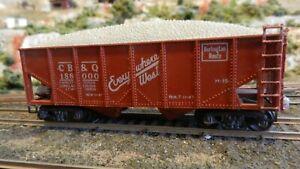 Varney-HO-Vintage-Burlington-Hopper-Die-Cast-Trucks-Ex