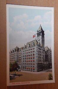 Postcard-America-Post-Office-Washington-DC-VA-unposted