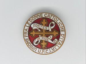 RELI-112-INSIGNE-RELIGIEUX-UNIONE-FRA-LEDONNE-CATTOLICHE-D-039-ITALIA