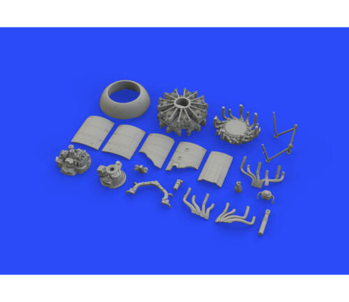 Fw 190A-8// R2 ADVANCED Brassin accessories for Fw 190A-8//R2 1//48 scale by Eduard