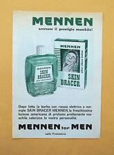 D335 - Advertising Pubblicità- 1959 - MENNEN SKIN BRACER LOZIONE AMERICANA