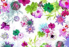 Verano flores fondo Papel pintado Fotomural Decoración De Pared Grande