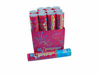 Happiness 12 Party Poppers Streamer Confetti Shooter Cannon 6 Pieces