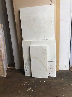 450x525 Amp 460x230x30mm Neo Calacatta Marble Style White