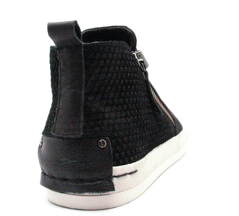 best cheap df93d d32aa ... CRIME CRIME CRIME London Women s NERO DONNA LEATHER HIGH-TOP w SIDE-ZIP  ...