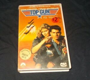 TOP-GUN-VHS-PAL-CIC-ORIGINAL-CASE-TOM-CRUISE-1987