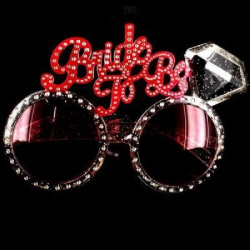 Hen Party Glasses Sunglasses Bride To Be Pink Accessories Partyware Decorations