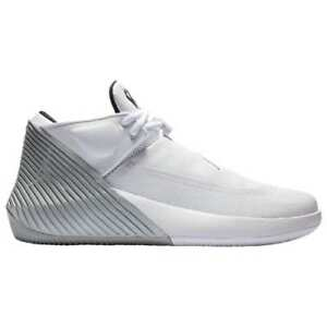 bcc4efd3f2c9a4 Nike Air Jordan Why Not Zero.1 Low White Silver Russell Westbrook ...
