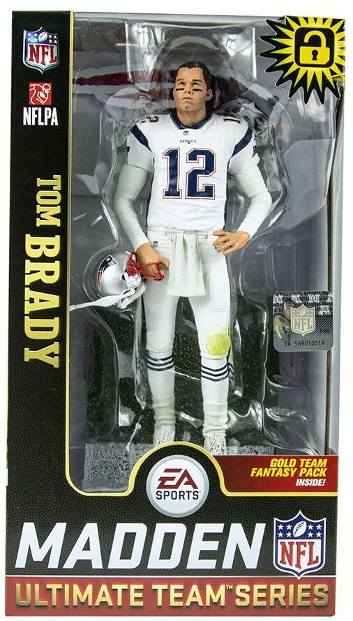 McFarlane Walmart Exclusive Tom Brady Madden NFL 19 Patriots 6  Action Figure