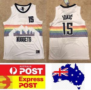 0622e43604d Denver Nuggets #15 Jokic City edition jersey, cool color, Mel Stock ...