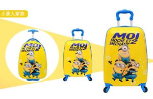 Despicable Me les Minions Enfants Voyage Bagage Valise Chariot Sac Vacances