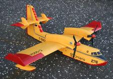 """CANADAIR CL-415 scratch build R/c Seaplane Plans 76"""" wingspan ELECTRIC POWER"""