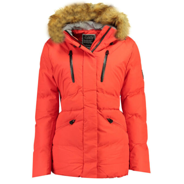 Coat Geographical Winter Women's Parka Hood Norway Quilted Jacket RLAj354