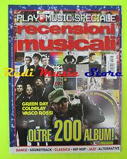 rivista PLAY MUSIC 6/2012 Vasco Rossi Coldplay Green Day  No cd