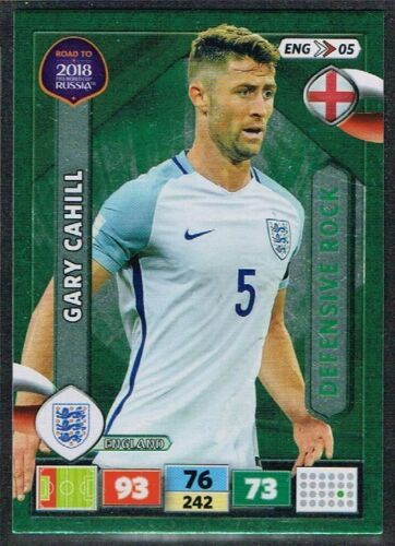 PANINI ROAD TO WORLD CUP 2018 ☆☆ Angleterre ☆☆ Football Cartes #ENG01 à #ENG18