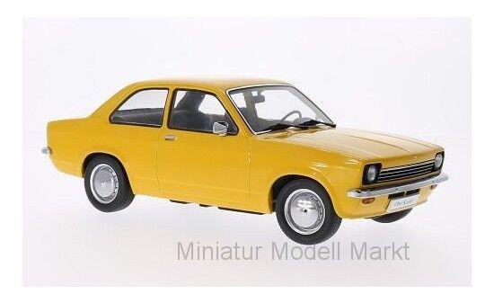 KK-scale Opel Kadett C sedán-giallo oscuro - 1 18