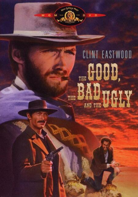 The Good, the Bad and the Ugly Movie POSTER, 27 x 40 Clint Eastwood, Style C