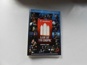 VODAFONE-LIVE-AT-THE-CHAPEL-SERIES-TWO-DVD-AUSTRALIA-NOEL-GALLAGHER-AUGIE-MARCH