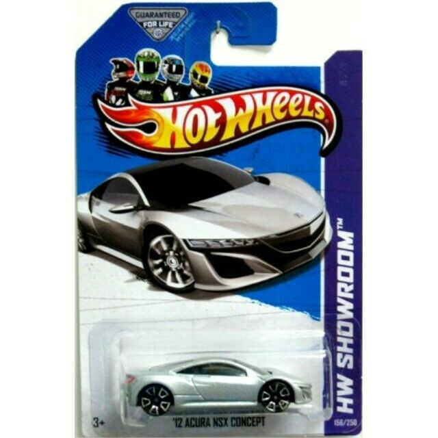 Hot Wheels 2013 HW Showroom '12 2012 Acura NSX Concept