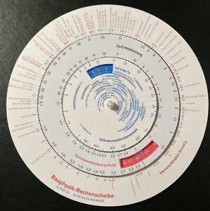 Fur-bauphysik-de-calcul-disque-a-calcul