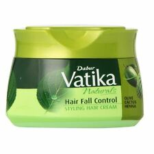 Dabur Vatika, Styling Hair Cream,Hair fall Control, Henna, Cactus & Olive, 140ml